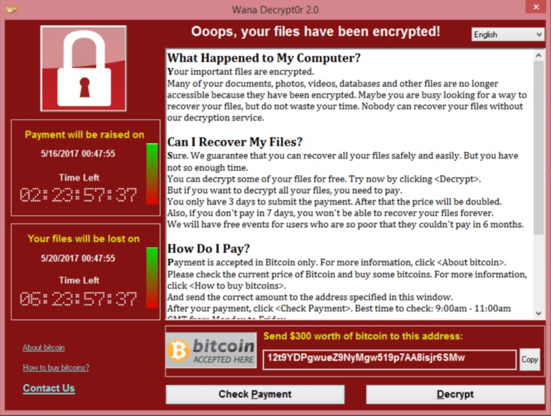 Folge 26: WannaCry – alles steht still, wenn dein Hacker eswill